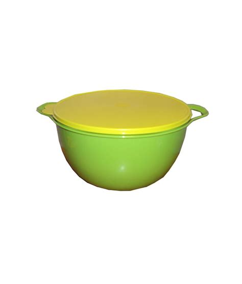Tupperware Mixing Bowl tupperware green mega mixing bowl 42 pieces buy