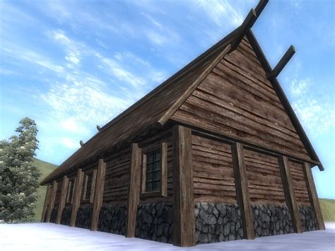 nordic home nordic house tileset at oblivion nexus mods and community