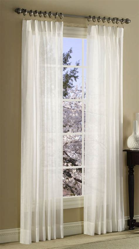 pinch pleat sheer drapes splendor sheer pinch pleated curtains stylemaster view
