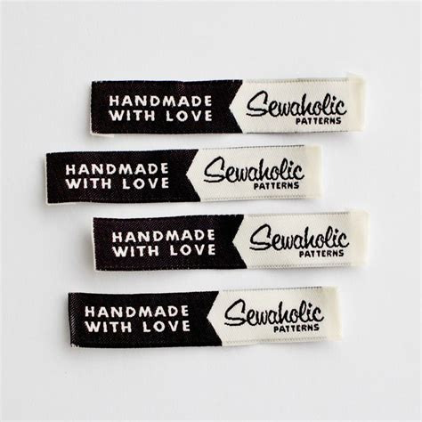 Tags For Handmade Clothes - 25 best ideas about clothing labels on