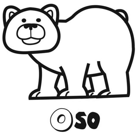 imagenes para colorear oso related keywords suggestions for dibujo oso