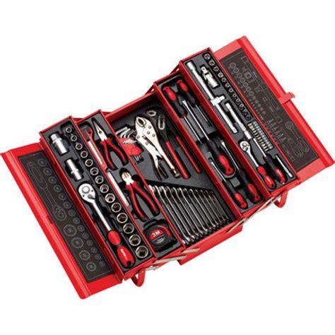cassetta con attrezzi cassetta attrezzi con 90 pezzi 5 scomparti a ribalta