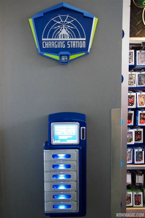 smartphone charging station hands on with the new smartphone charging lockers at the magic kingdom