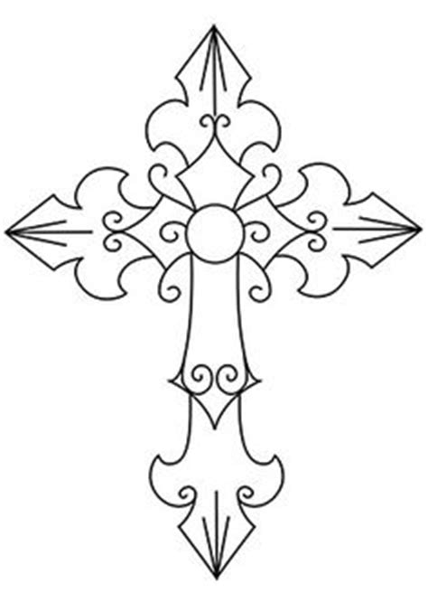 1000 Images About Crosses On Pinterest Christian Crosswalk Paint Template