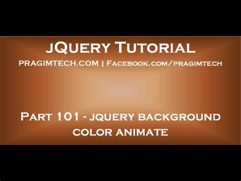 jquery animate color jquery background color animate
