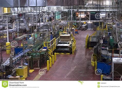 Machine Shop Floor Plans Industrial Manufacturing Shop Floor In A Factory Stock