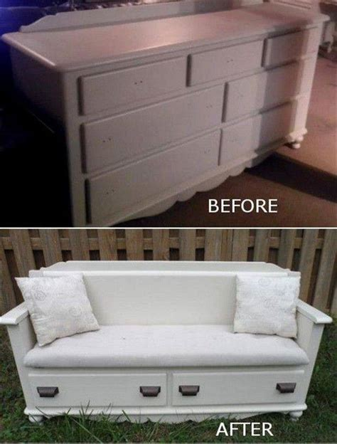dresser into bench diy transform your old dresser into fabolous bench