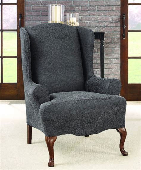 lifetime ultimate comfort folding chair ultimate stretch faux leather wing chair cover