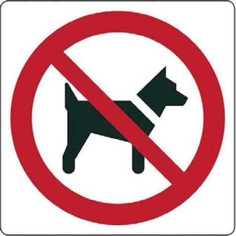 divieto d ingresso ai cani cartello di divieto vietato l ingresso ai cani manutan