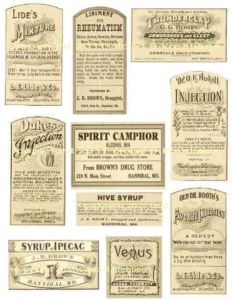 printable old labels 232 best scrapbook vintage ephemera printables images on