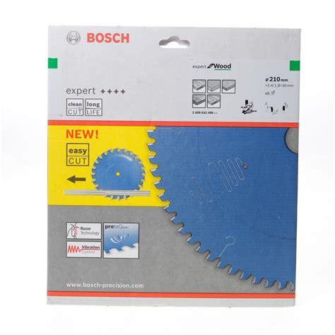 Polijstmiddel Tanden by Bosch Cirkelzaagblad 48 Tanden Multi Material Abt 210 X