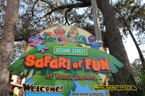 Busch Gardens Sesame by Sesame Safari Of At Busch Gardens Ta Bay