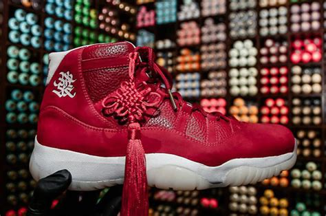 air jordan 11 chinese new year custom sneakerfiles