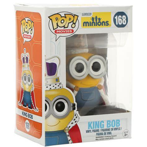 Pop Minions King Bob Vinyl Figure funko minions pop king bob vinyl from topic things