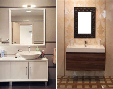 Cermin Interior model kaca cermin dinding kamar mandi