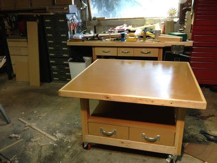 assembly bench assembly table by randyb lumberjocks com woodworking