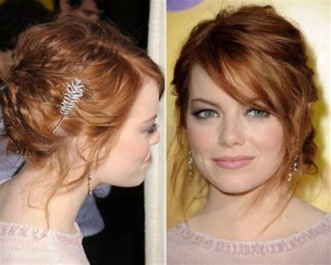 hairstyles with bangs tied up tied hairstyles for long hair