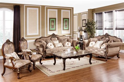 Tuscan Couches by Tuscan Villa Traditional Formal Sofa Set