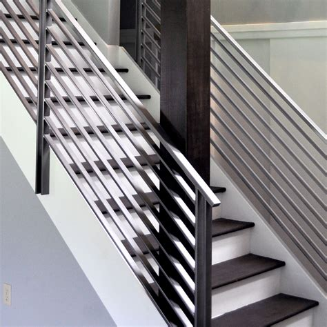modern banister rails stair adorable modern stair railings to inspire your own
