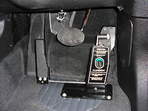 Floor The Accelerator by Floor Mounted Pedal Transfer