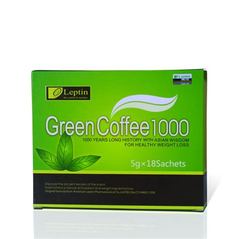 Leptin Green Coffee 1000 leptin green coffee 1000 id 7658331 product details