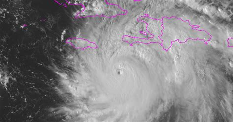 catastrophic hurricane matthew damage could hurricane matthew s impact on haiti could be catastrophic