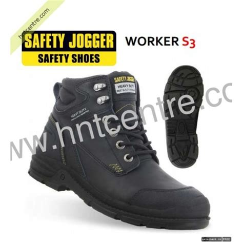 Safety Shoes Kws803 X safety jogger safety shoe worker black middle cut