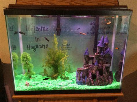 harry potter aquarium decor hydor h2show magic world decoration medmind