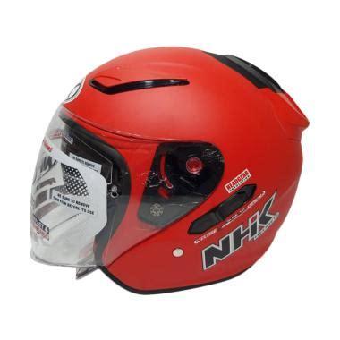 Helm Nhk R1 Solid Murah jual helm nhk half terbaru original harga promo blibli