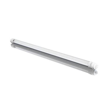 led linear tube lights 3nled 4 ft t8 18 watt cool white clear lens linear led