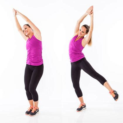 the standing abs workout for a flat stomach shape magazine