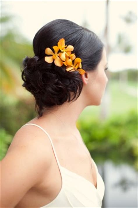 Wedding Hair With Orchids by Wedding Hair Flower Accessories
