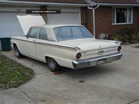 1962 Ford Fairlane 1962 Ford Fairlane 2 Door Standard Coupe