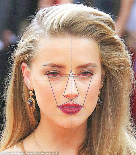 heart shaped faces most attractive johnny depp s wife amber heard has the world s most