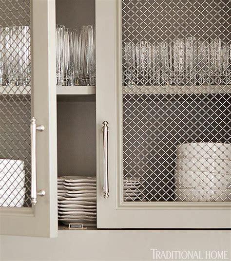 Mesh Cabinet Door Inserts Metal Mesh Cabinet Doors And Cabinets On Pinterest