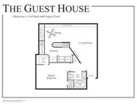 1 bedroom guest house plans perfect guest house floor plans bedroom cabana or casitas on pinterest floor plans small house