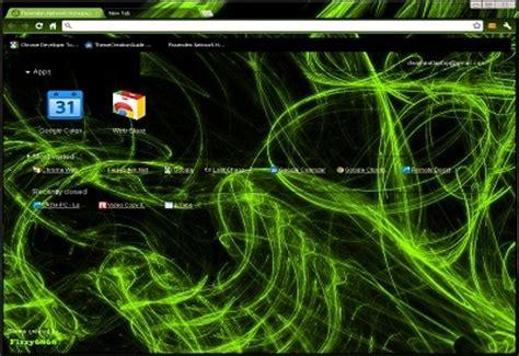 green theme for google chrome neon glow lime green chrome web store