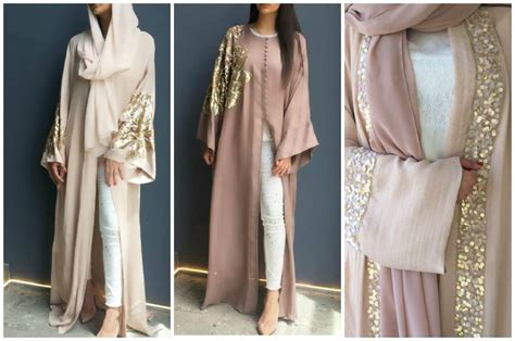 Abaya Gold 18 fancy abaya designs ideas how to wear abaya fashionably
