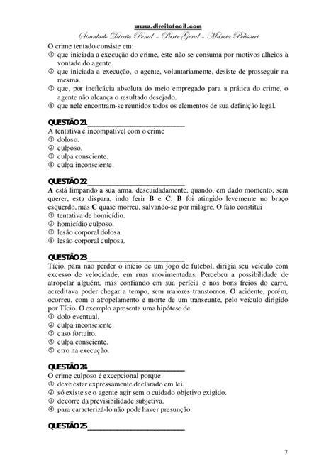 57 questoes de_direito_penal - parte geral