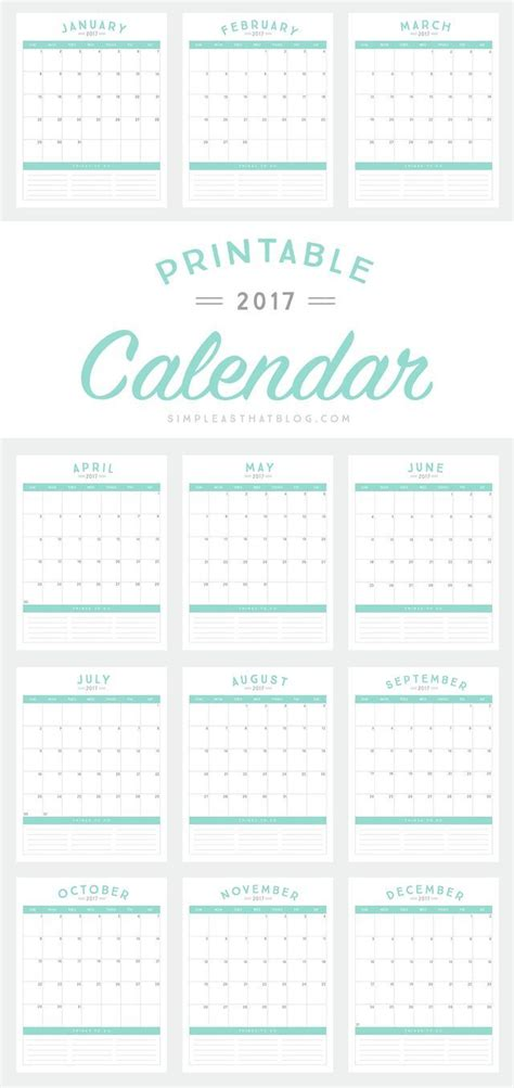 best 25 2017 calendar printable ideas that you will like