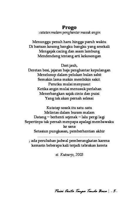 Jual Buku Puisi by Jual Buku Puisi Cinta Tanpa Tanda Baca Oleh Andri