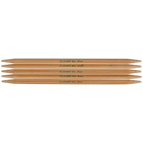 what are pointed knitting needles 7 quot bamboo pointed knitting needle 5 pack size 3