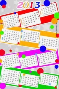 Calendario Para Imprimir Calend 193 2013 Para Imprimir Coisas Pra Ver