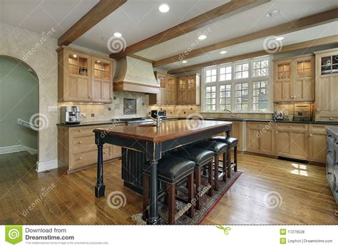 center islands for kitchens kitchen with center island royalty free stock photos