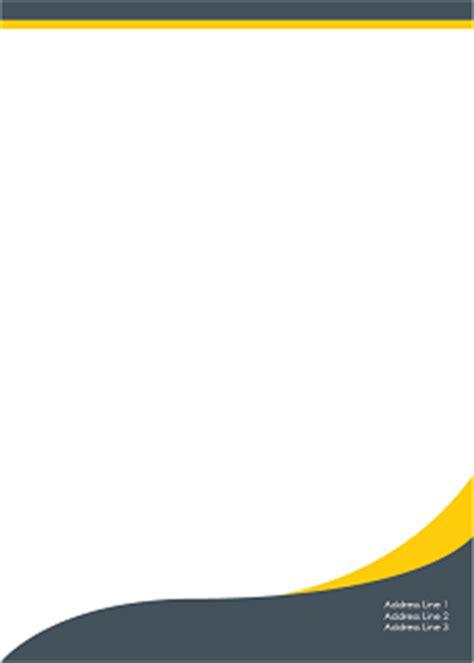 header design for letterhead letterhead design template inspirations