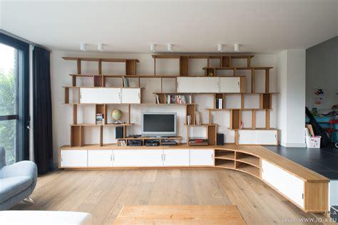 grande biblioth 232 que meuble tv jo a c 244 t 233 maison