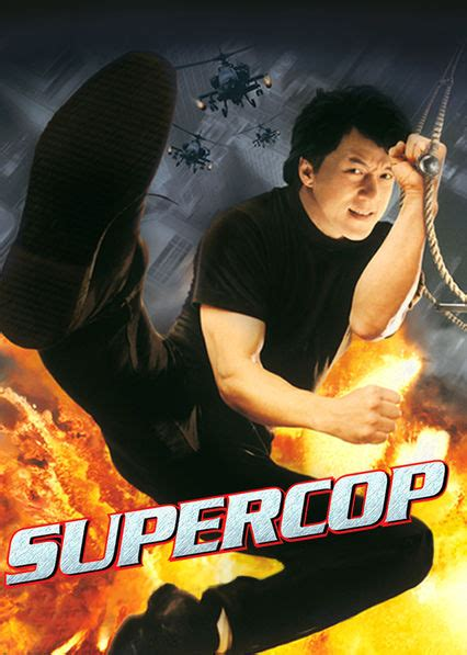 film gangster china is supercop available to watch on netflix in america