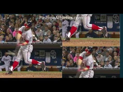 bryce swing bryce baseball swing analysis motion hitting