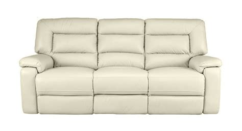 just 4 sofas imperia 3 seater manual double recliner sofa