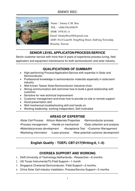 exle profile resume 28 images how to write a